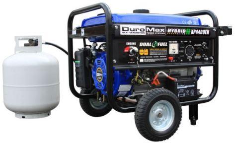 Duromax XP4400EH Dual Fuel Generator
