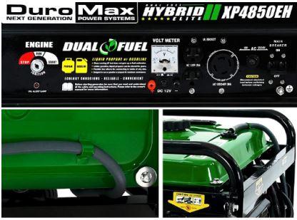 Duromax XP4850EH dual fuel generator