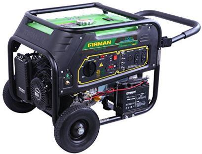 Firman RD9000E dual fuel generator