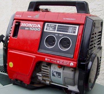 Honda ex1000 specs