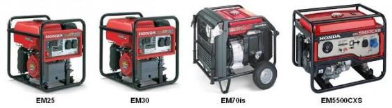 Honda RV Generator EM series