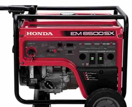 Honda power generator EM6500S