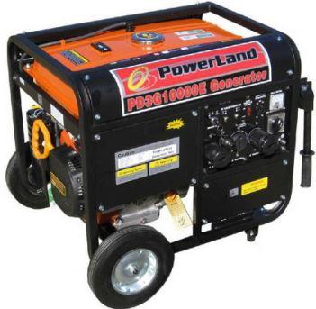 Powerland PD3G10000E dual fuel generator