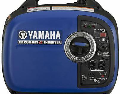 Yamaha EF2000iSv2 super quiet generator