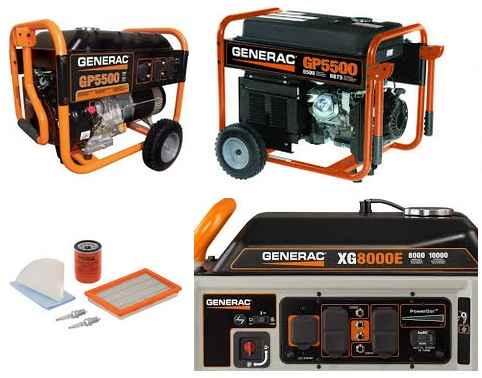 generac portable generator parts
