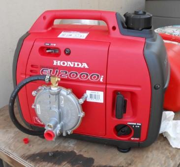 honda 1000 generator oil