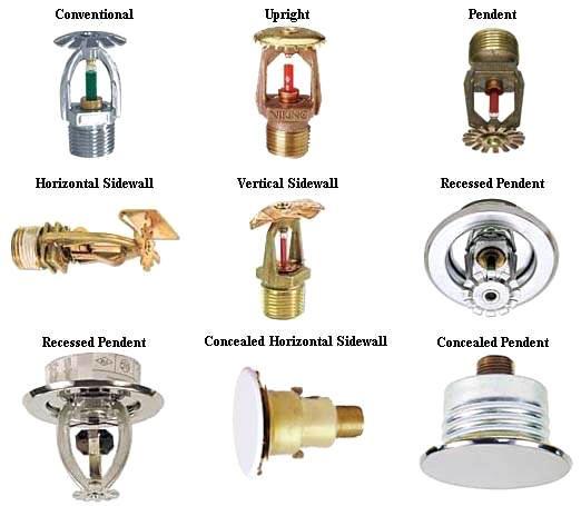 Concealed Sprinkler Head Design