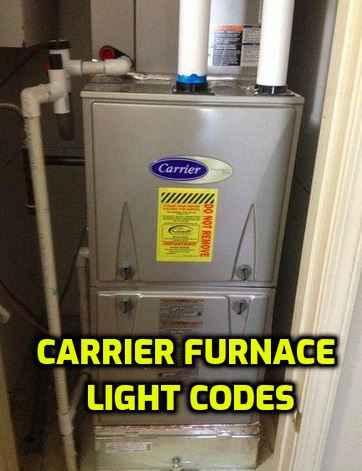 Carrier Furnace Light Codes