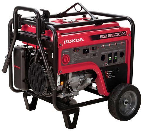 Honda ES6500 Generator Specs