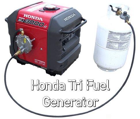 Honda Tri Fuel Generator