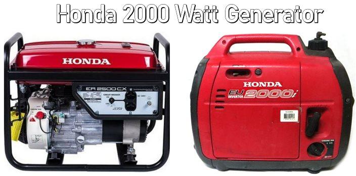honda 2000 watt generator