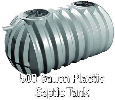 500 Gallon Plastic Septic Tank
