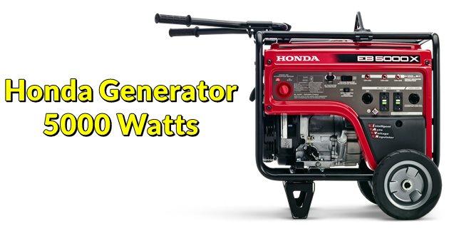 Honda Generator 5000 Watts