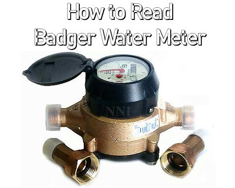 badger water meter problems
