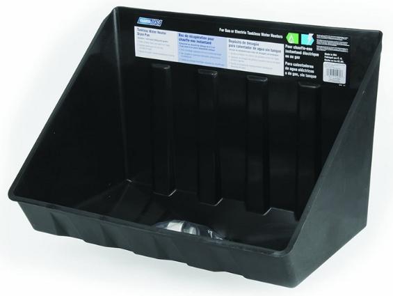 Tankless Water Heater Drain Pan Code
